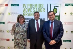 Juan de Dios Gálvez junto al presidente de la diputación de granada José Entrena