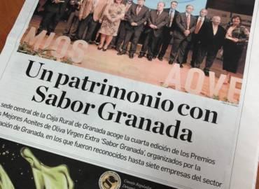 Premio a los mejores AOVE 'SABOR GRANADA' 2018