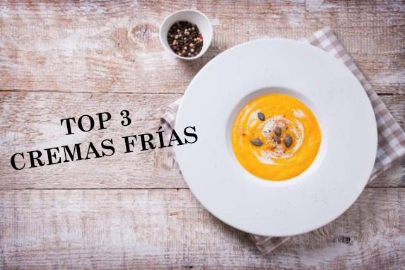 Top 3 Cremas Frías Veraniegas